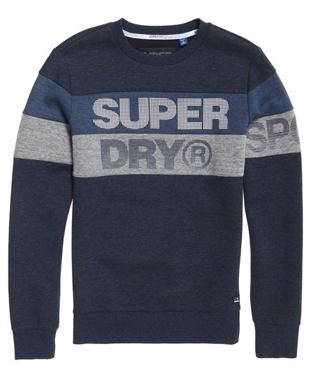 Superdry Gym Tech Cut-genser med rund hals