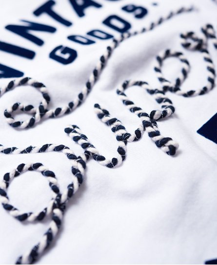 Superdry T-shirt Rope Applique