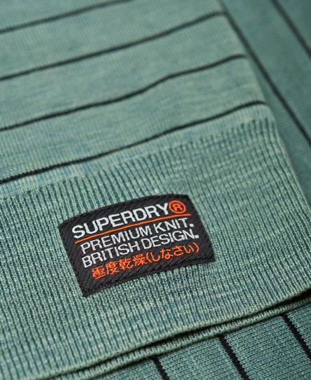Superdry Pull ras du cou rayé L.A.
