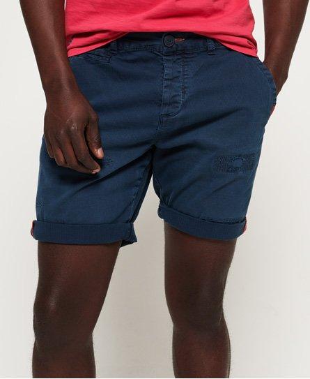 Superdry International Patch & Repair Chino Shorts