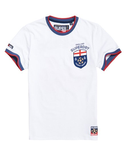 2448299673b2 Mens - England Trophy Series T-Shirt in Optic   Superdry