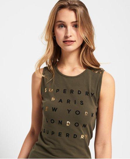 Superdry Lace Trim Dress
