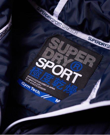 Superdry Gym Tech Chevron Hybrid Jacke