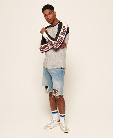 Superdry Retro Stripe Raglan T-Shirt