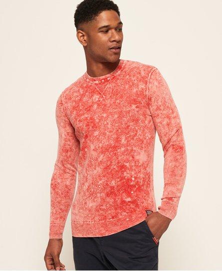 Superdry Maglione girocollo Garment Dye L.A. Splatter