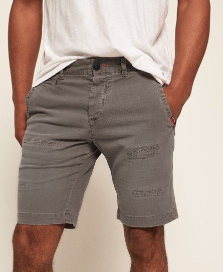 Superdry Short Chino International Patch & Repair