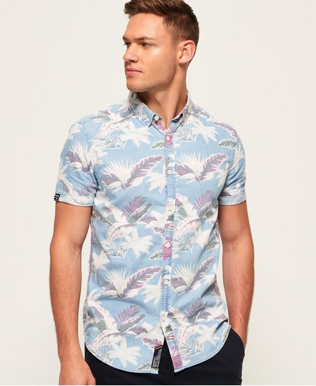 Superdry Miami Loom Short Sleeve Shirt