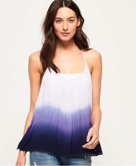 Superdry Skye Embroidered Back Cami Top