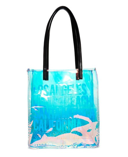 Superdry Iridescent Jelly Shopper Bag