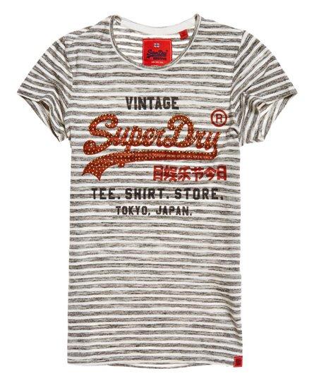 Superdry T-shirt a righe Shirt Shop