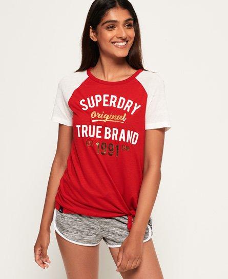 Superdry LA Knot Front T-Shirt
