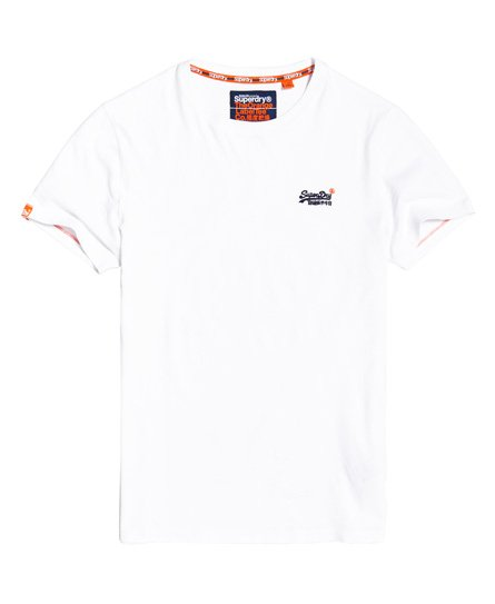 Orange Label Vintage T-shirt med broderet logo