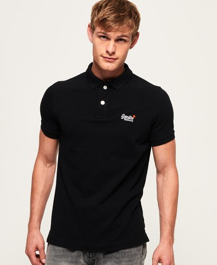 Classic Short Sleeve Pique Polo Shirt