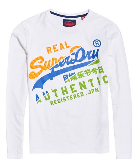 Superdry Vintage Authentic Long Sleeve T-Shirt