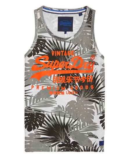 Superdry Premium Goods All Over Print Vest Top