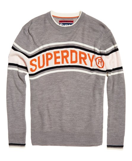 Superdry Oslo Racer Crew Neck Jumper