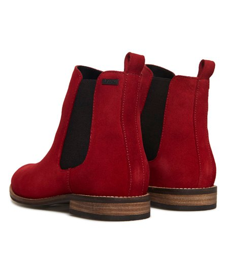 Superdry Millie-Lou Suede Chelsea Boots