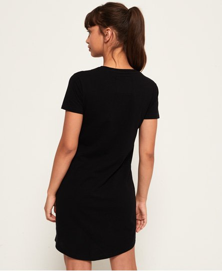 Superdry Slim Embellished T-Shirt Dress