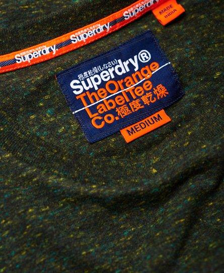Superdry Orange Label Vintage broderad t-tröja