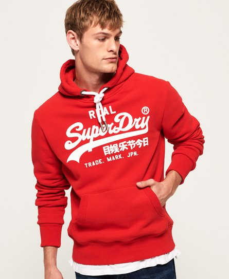 Superdry Sweat à capuche Vintage Logo