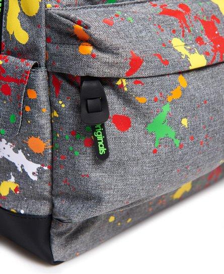 Superdry Montana ryggsäck med tvåfärgade färgstänk