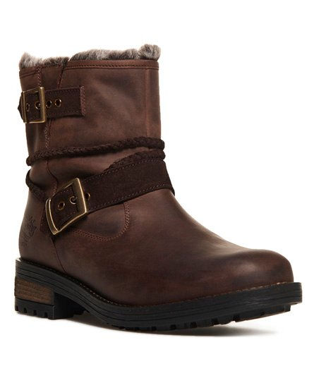 Superdry Hurbis Biker Boots *Choose Your Size*