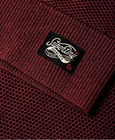 Superdry Pull à col rond texturé Garment Dye L.A