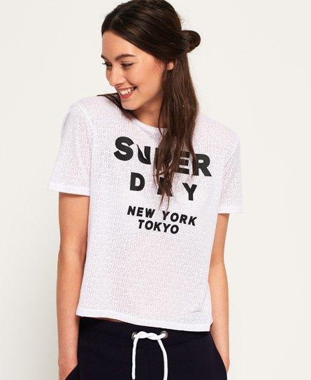 Superdry T-shirt effet dévoré Houston