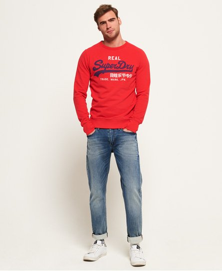 Superdry Pull ras du cou Vintage Logo Duo