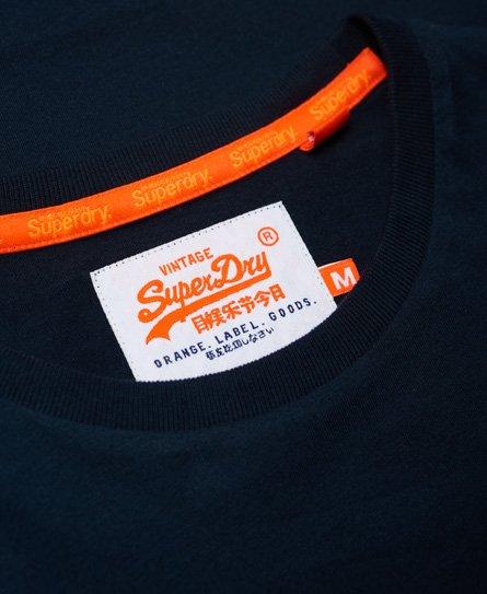 Superdry T-shirt brodé Vintage Orange Label
