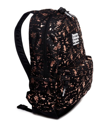 b92e0adc27b Womens - Print Edition Montana Rucksack in Rose Gold Splatter | Superdry