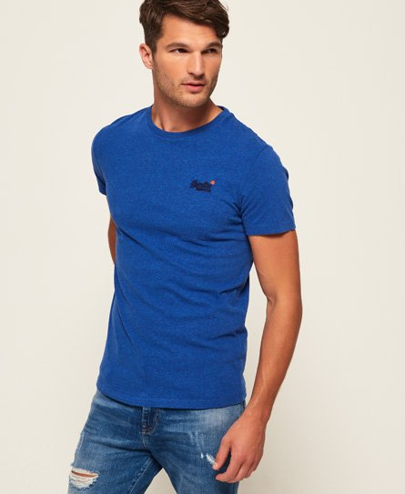 Superdry Vintage T-Shirt mit Stickerei aus der Orange Label Kollektion