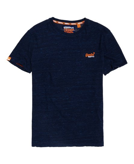 Orange Label Vintage T-shirt med broderet logo.