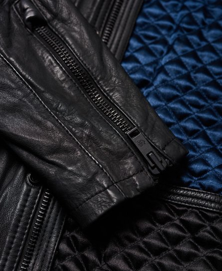 Superdry Rotor Leather 4 Pocket Jacket