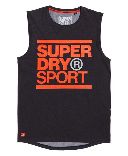 Superdry Core tanktop med grafik