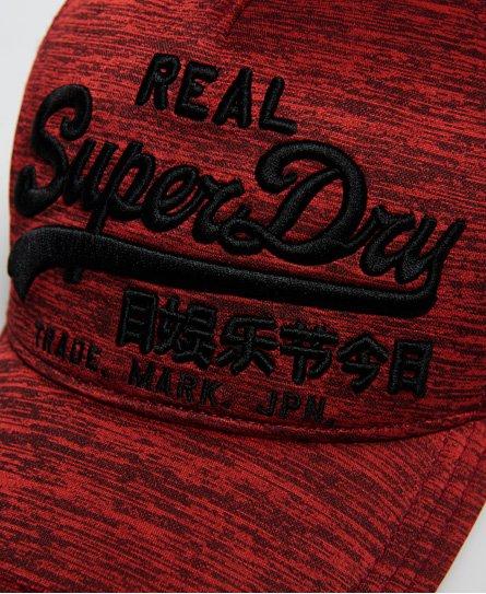 Superdry Casquette style camionneur à logo vintage