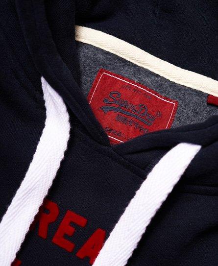 Superdry Vintage Logo Hoodie mit geflockter Logoprägung