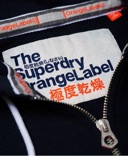Superdry Orange Label, hettegenser med glidelås