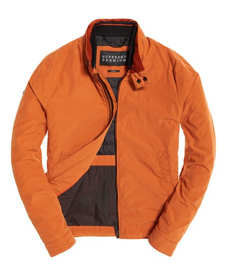 Uomo Superdry Casual Giubbotto Harrington Premium Da IxZOgT1