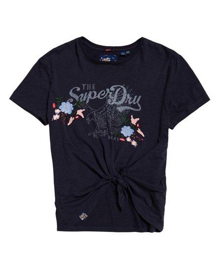 Superdry Katie T-Shirt mit Stickerei