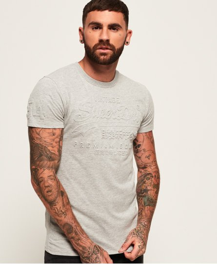 Superdry T-shirt Premium Goods Embossed