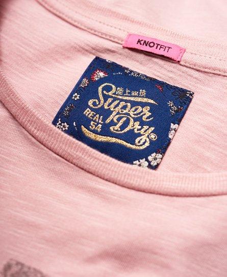 Superdry T-shirt ricamata Katie