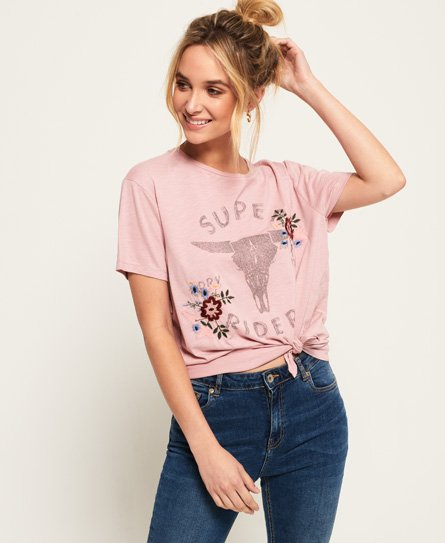 Superdry Katie Embroidered T-Shirt