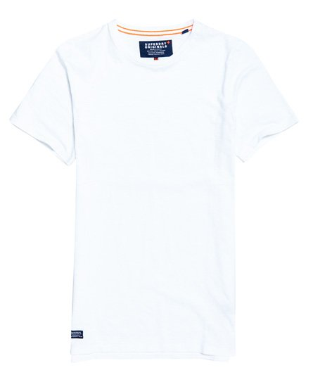 d92fe599fcb516 Superdry Lang geschnittenes Dry Originals Kurzarm-T-Shirt - Herren T ...