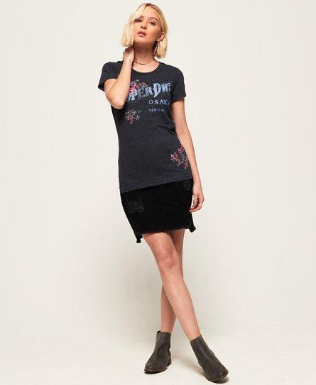 Superdry Arizona T-shirt med fremhævet broderi