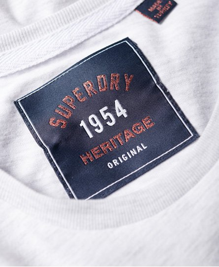 Superdry T-shirt goffrata High Flyers