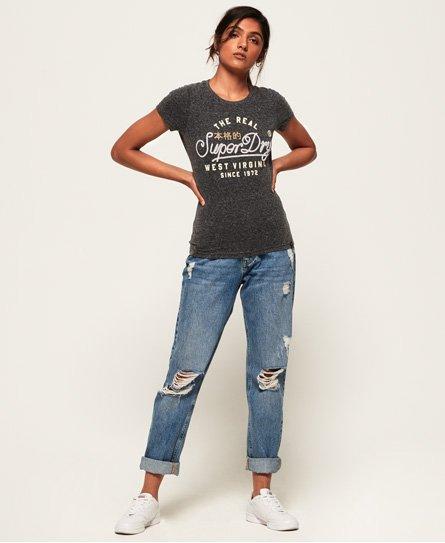 Superdry Western T-Shirt mit Kordeldetail