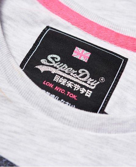 Superdry Vintage Logo T-Shirt mit Strassbesatz