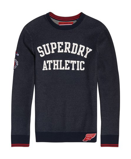 Superdry Pull ras du cou Track Squad