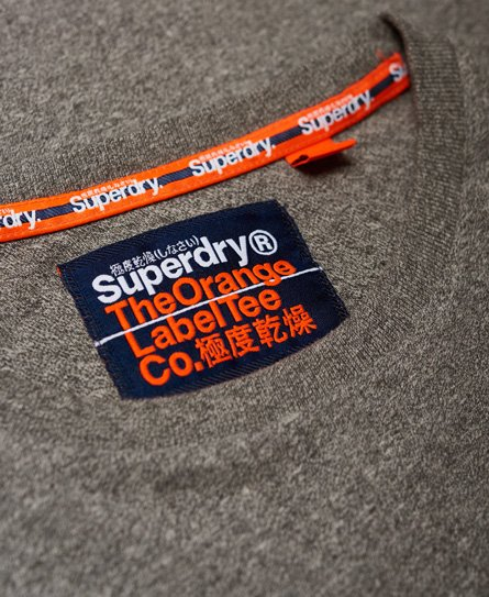 Superdry Orange Label Softball Ringer T-Shirt